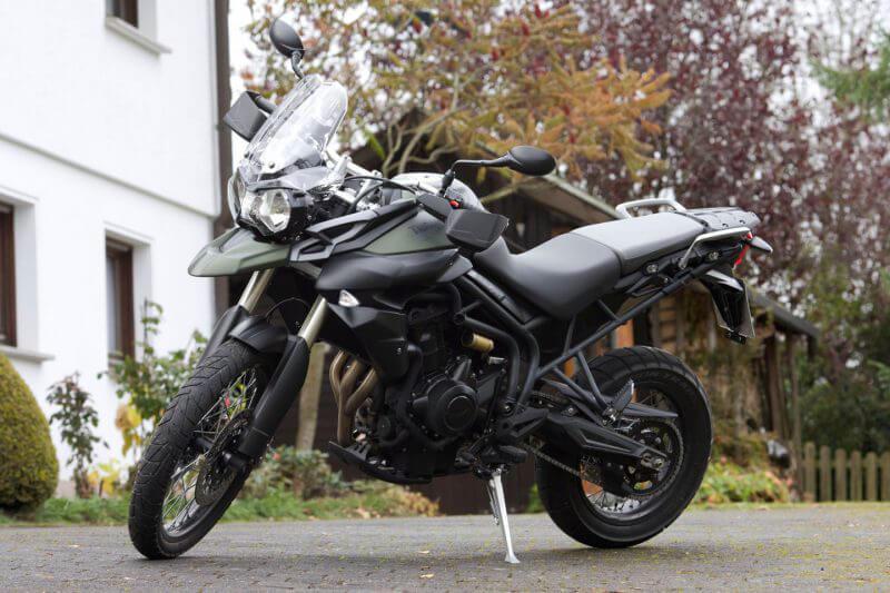 Unsere Triumph Tiger für Deinen Motorrad Führerschein