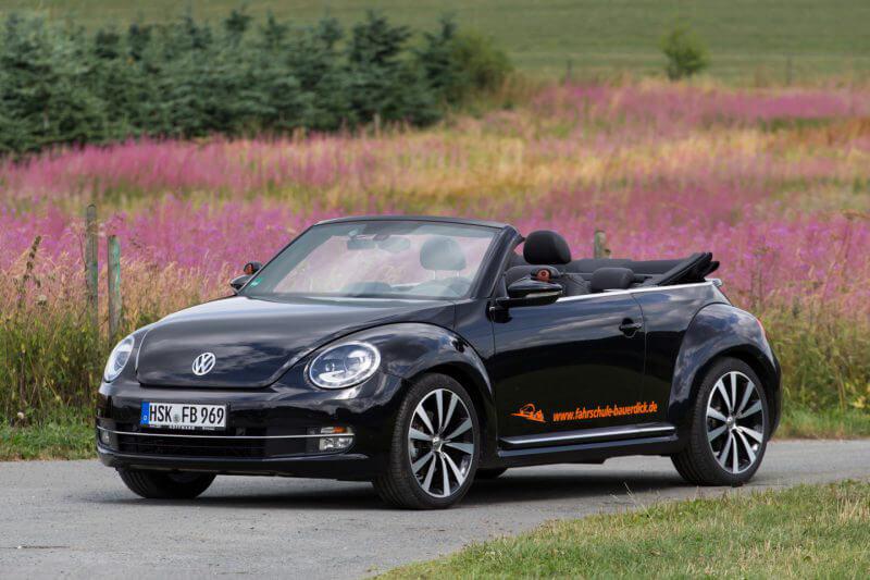 Für sonnige Tage - Unser VW Beetle Cabrio
